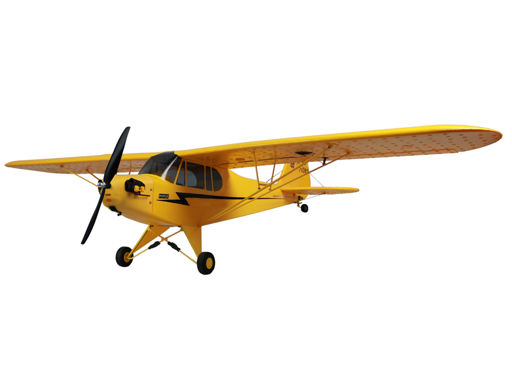 dynam piper j 3 cub 1245mm electric rc airplane pnp general hobby. Black Bedroom Furniture Sets. Home Design Ideas