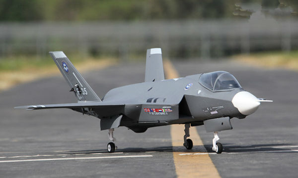 Lx F 35 70mm Edf 360 Vector Rc Jet With Retracts Kit