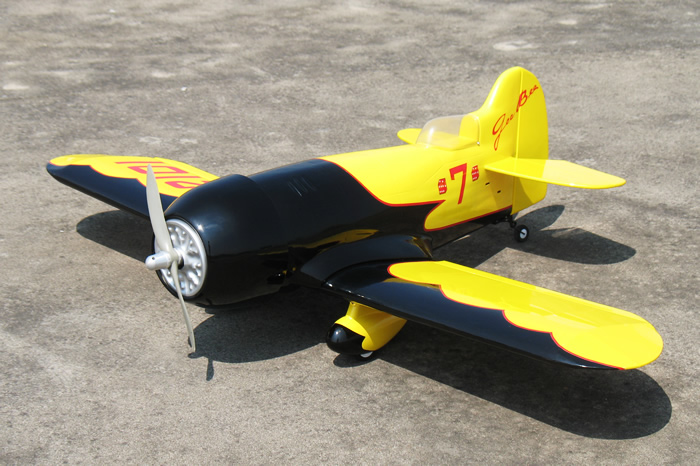 Flyfly Gee Bee 25 40 8 Fiber Glass Electric Rc Airplane