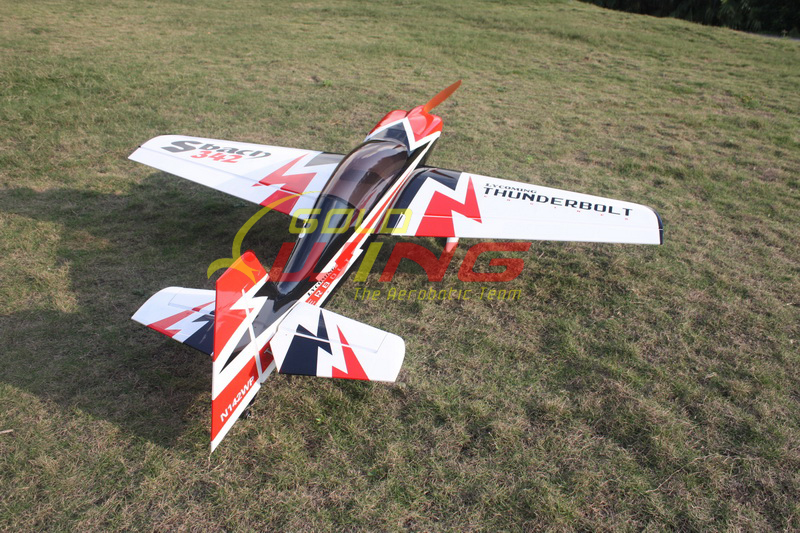 Goldwing Sbach 50Cc http://www.ebay.co.uk/itm/Goldwing-Sbach-342-Thunderbolt-50CC-89-Aerobatic-RC-Airplane-Version-3-A-/151030131178