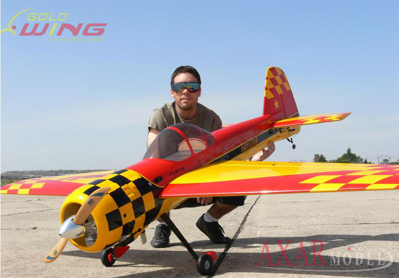 Goldwing Yak 55m V3 88 50cc Gas Aerobatic Rc Airplane