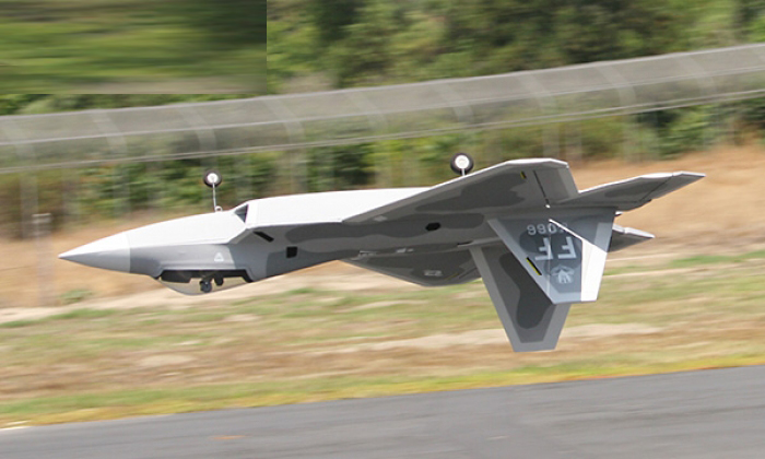 Lanxiang F-22 70mm Raptor