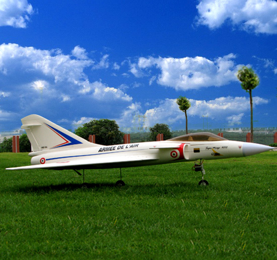 Mirage 4000 70mm EDF RC Jet RTF