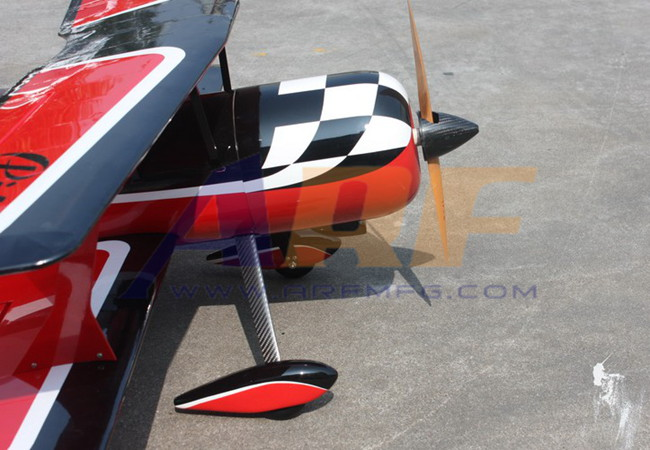 Goldwing Arf Pitts 30cc 60 1530mm Rc Plane Red A