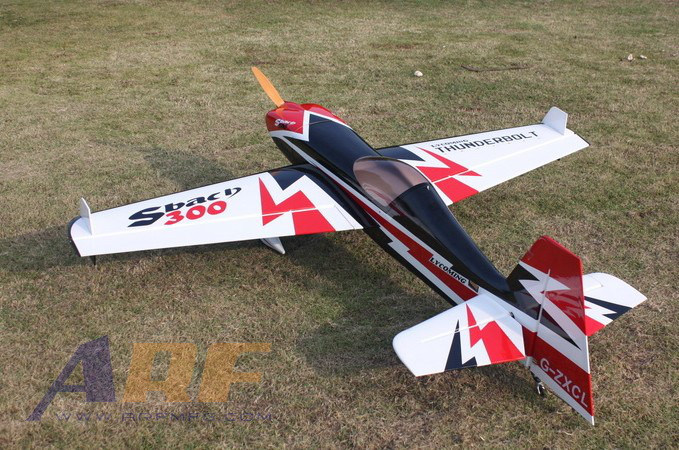 Arfmfg Sbach 300 30cc V2 A Carbon Aerobatic Rc Airplane