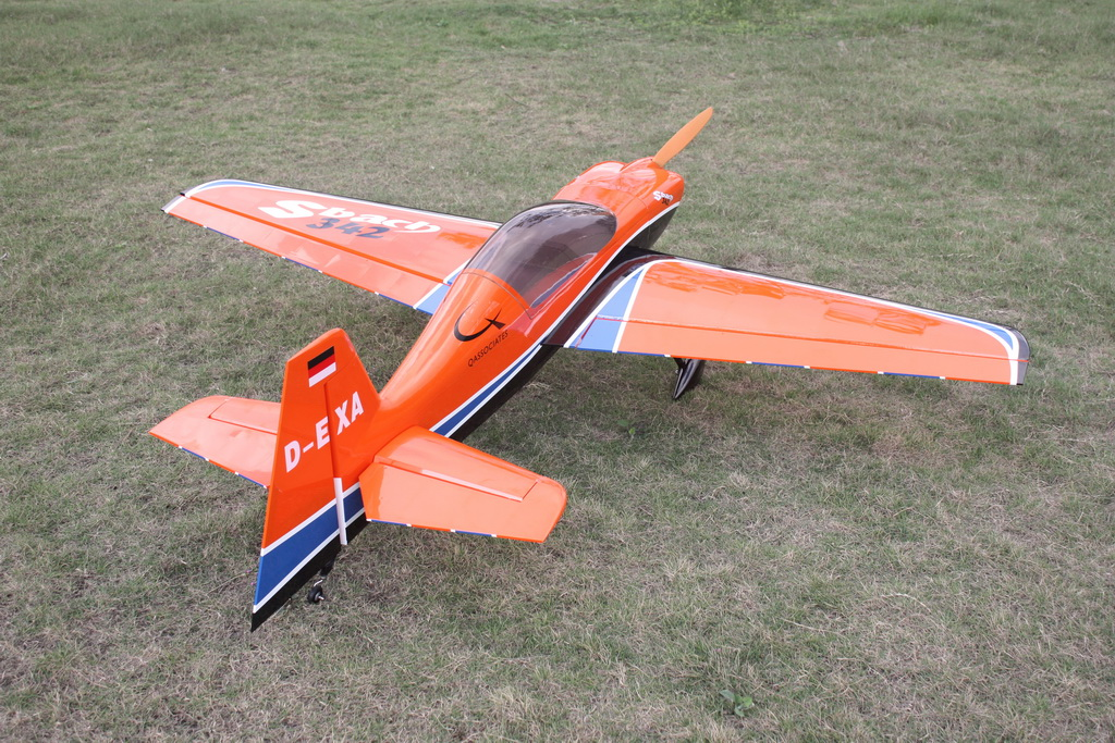 Skyline Sbach 342 50cc 89 Carbon Aerobatic Rc Airplane