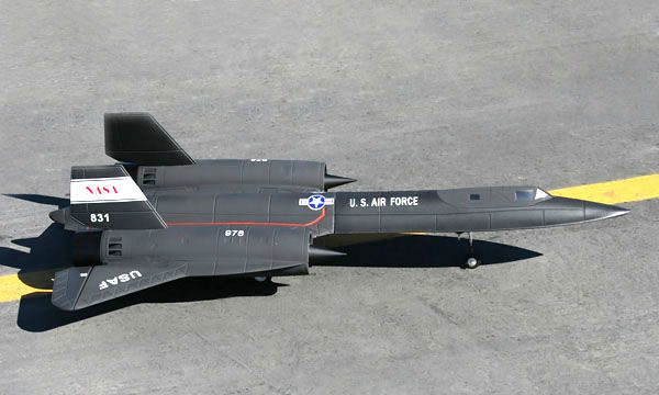 Fastest Plane In The World >> LX SR71 Blackbird Dual 64mm EDF Jet With Retracts RTF Ready-To-Fly - General Hobby