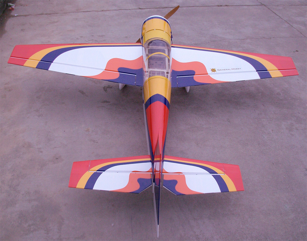 Yak 54 50cc 87 Nitro Gas Rc Airplane Arf General Hobby