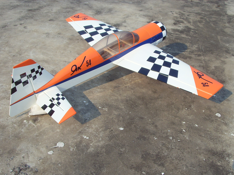 (completed) Hobbyking Yak 55 Gas 30cc 1826mm (ARF)