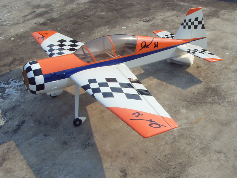 Parts Of A Plane >> Skyway Yak 54 30CC 73'' Carbon Aerobatic RC Airplane C - General Hobby