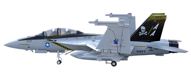 Lx F 18 Twin 70mm Edf Jolly Rogers Rc Jet With Retracts