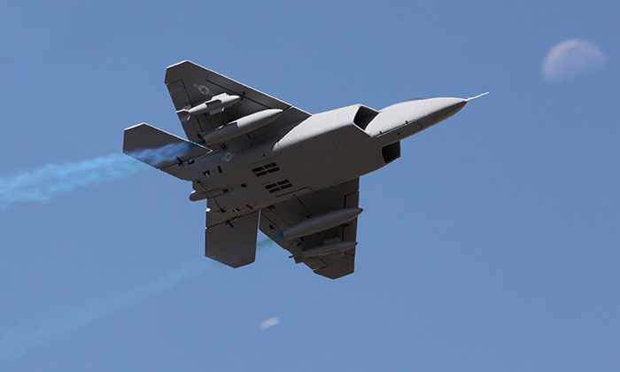 Lx F-22 Twin 70mm Edf Rc Jet With Retracts Pnp
