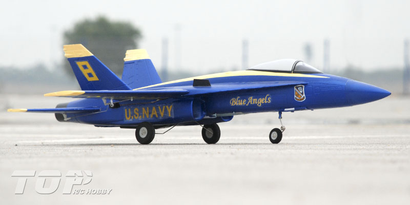 Toprc F 18 Blue Angel 686mm Wingspan Rc Jet Pnp General