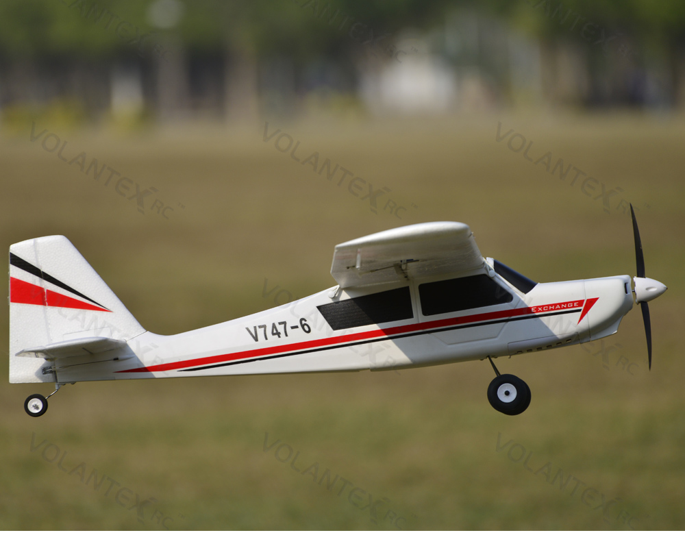Volantex R/C TrainStar Exchange 747-6 Electric RC Plane Kit Version