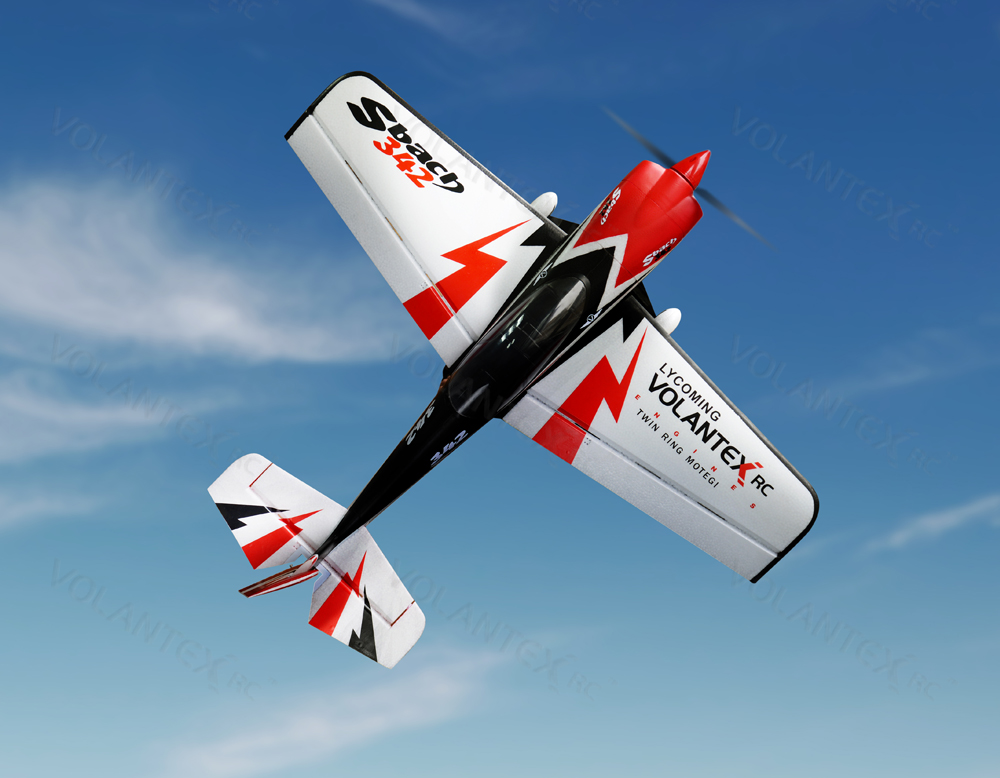 Volantex Sbach 342 756-1 1100mm/44.3'' EPO Aerobatic RC Plane Kit Version