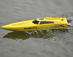 VolantexRC Vector 70 (cm) High speed RC Boat ABS Unibody (792-1) PNP Brushless Version