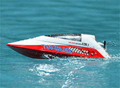 VolantexRC Tumbler Auto-roll-back Pool Racer RC Boat (796-1) Ready-To-Run