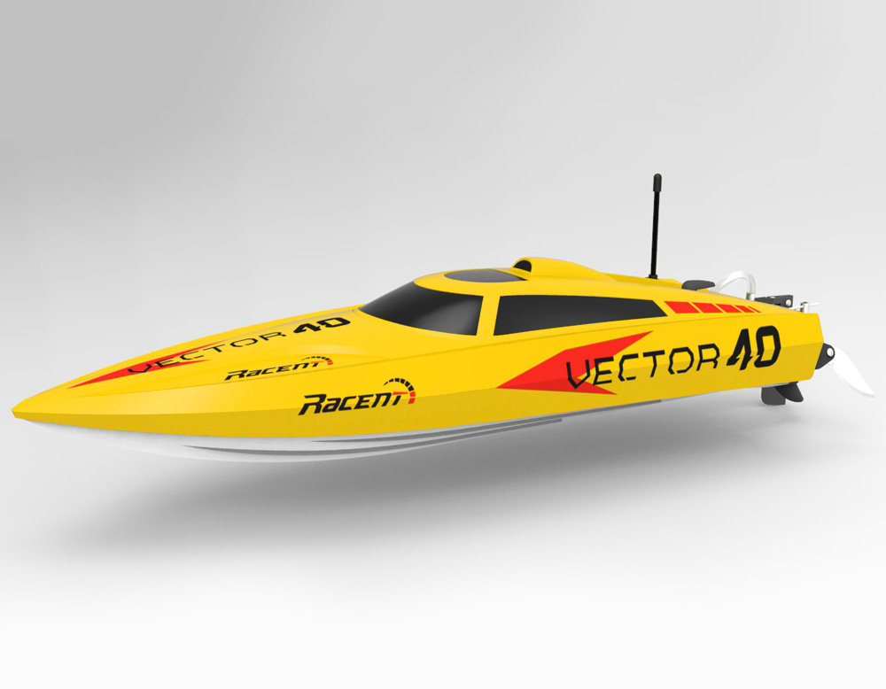 VolantexRC Vector 40(cm) High speed racing boat ABS Unibody (797-1) Ready-To-Run Brushes Version