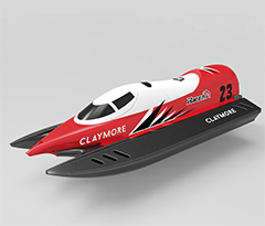 VolantexRC CLAYMORE Auto-roll-back Mini Pool Racer RC Boat (795-2) Ready-To-Run
