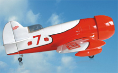 Gee Bee 25 Nitro/Electric 40'' RC Airplane ARF Red