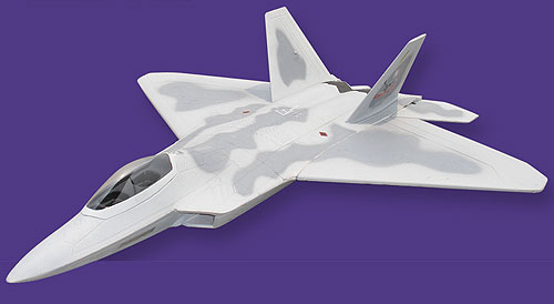 Flyfly F-22 Raptor 92mm EDF RC Jet Kit Version