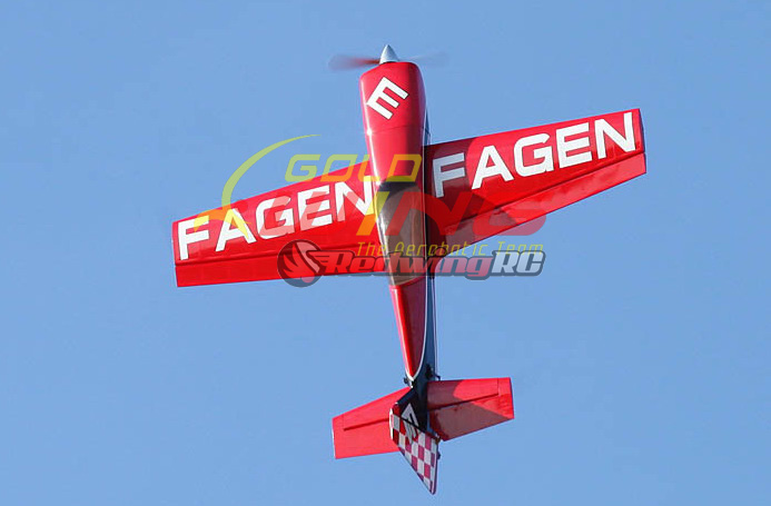 Goldwing MX-2 30CC 73'' V3 RC Airplane Version 3 Red