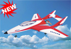 Richmodel Keecat 65 55.1'' Prop Jet RC Airplane ARF