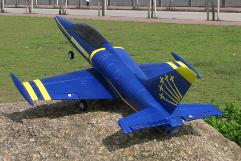 L-39 2.4G Ready-To-Fly Electric Brushless EDF RC Jet Airplane Blue