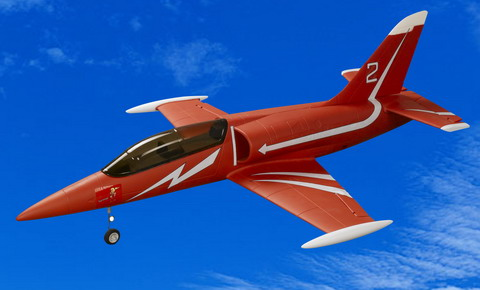 L-39 2.4G Ready-To-Fly Electric Brushless EDF RC Jet Airplane Red