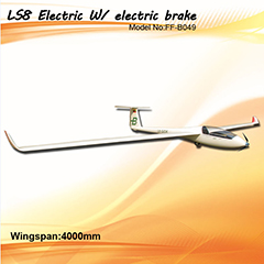Flyfly LS8 4m/157'' Electric RC Gilder With Brake FF-B049