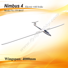 Flyfly Nimbus 4m/157'' Electric Glider With Brake FF-B037