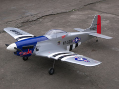 P-51 Mustang Stinky 57'' Nitro Gas RC Airplane ARF