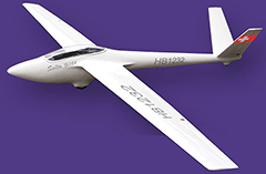 FLY FLY SALTO Scale Slope Glider 2.68m