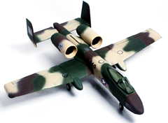 A-10 Thunderbolt II 4-Channel Ready-To-Fly Electric Ducted Fan RC Fighter Jet Airplane Sandy Camo Version