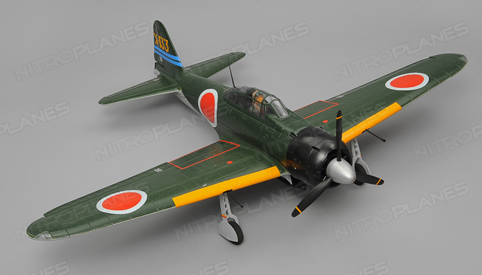 A6M Zero 1450mm Warbird Electric RC Airplane Plane Radio Controlled PNP