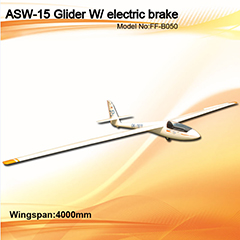 Flyfly ASW-15 4m/157'' Glider with Brake FF-B050