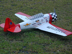 AT-6 Aeroshell 61'' Nitro Gas RC Airplane ARF