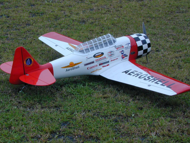 AT-6 Aeroshell 61'' Nitro Gas RC Airplane ARF, Returned Item