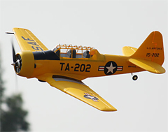 Freewing AT-6 Texan 57''/1450mm Yellow PNP