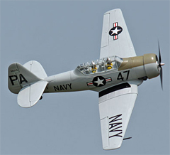 Freewing AT-6 Texan 57''/1450mm Grey PNP