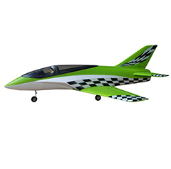 Concept X 748mm Wingspan 64mm EDF RC Jet PNP Green
