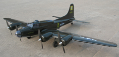 B-17 Flying Fortress Bomber 65'' RC Airplane ARF