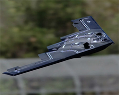 LX B2 Stealth Bomber Dual 64mm EDF Jet With Retracts Ready-To-Fly