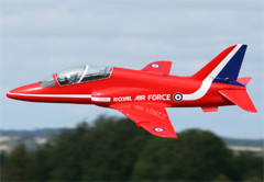 Flyfly BAE Hawk 90mm EDF Electric RC Jet Kit Version
