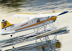 "Dynam DHC-2 Beaver 1500mm (59"") Wingspan Electric RC Plane Ready-To-Fly"