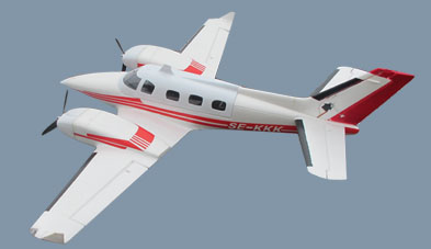 Flyfly Beechcraft Beech Duke B60 1600mm/63'' Electric RC Plane Kit