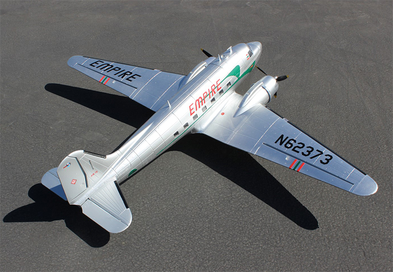 C-47 Skytrain Military Transport EPO 1600mm/63'' RC Plane PNP Silver