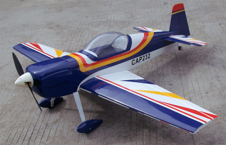 Cap 232 33.8'' Electric RC Airplane ARF