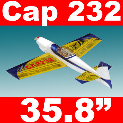 Cap 232 3D 35'' Electric RC Airplane ARF