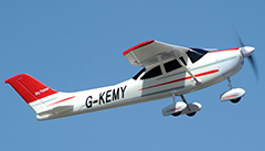 "Cessna 2.4Ghz 4Ch 55"" RC plane Ready-To-Fly"